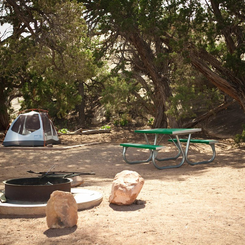 Campground in Canyonlands National PArk