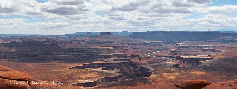 Photo showing Canyonlands vista